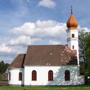 Joga Zdikov - ilustrativni obrazek - kostel sv. Ludmily